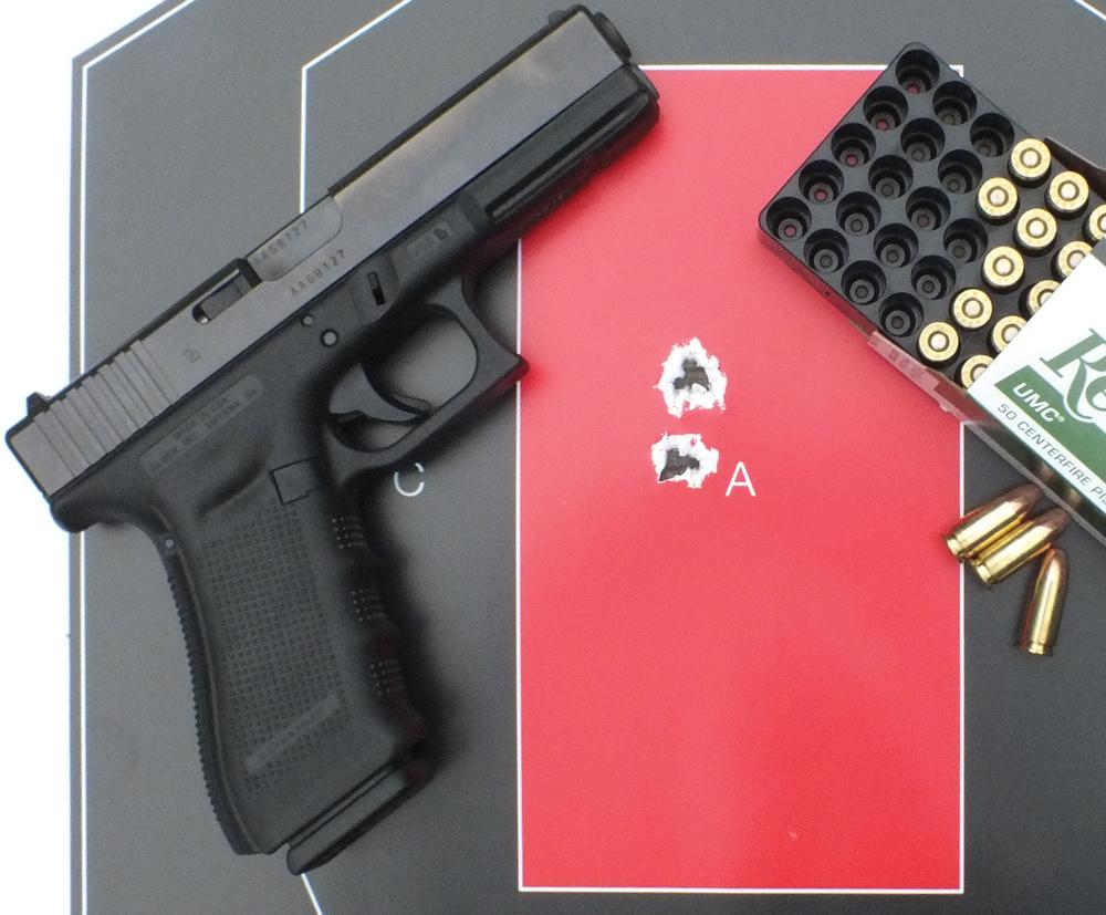 Striker-fired pistol challenge.