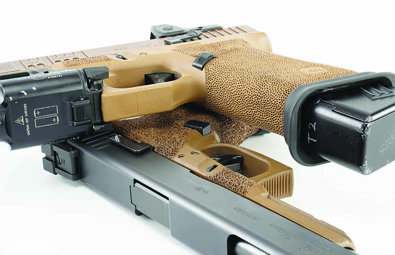 A TangoDown Vickers Tactical mag release is perfect for speeding up your reloads.