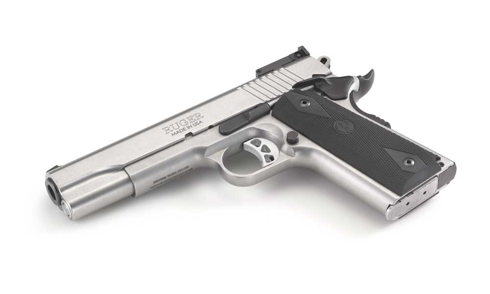 handguns for women - Ruger SR1911