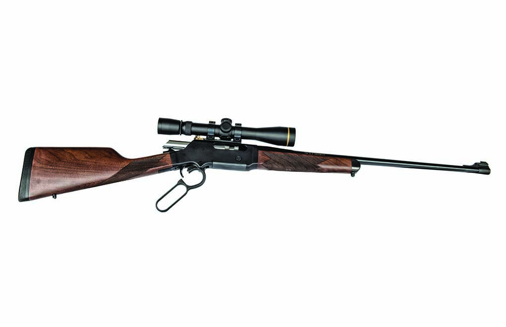 Lever Action side view