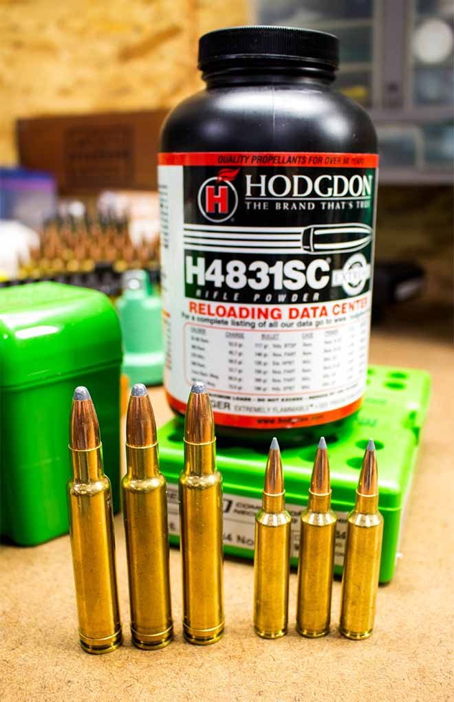 """H4831SC (the """"SC"""" stands for """"short cut,"""" as in the grain length) can fuel the big magnum cases such as the .378 Weatherby Magnum, as well as smaller cases such as the 6.5-284 Norma, with fantastic accuracy and consistency."""