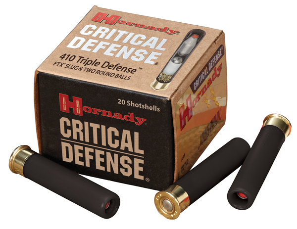 Hornady Critical Defense 410 Triple Defense