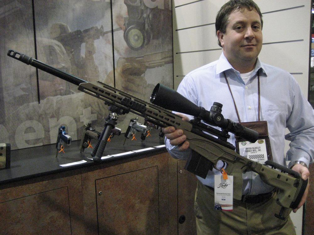 Kimber Tactical II SOC at SHOT  Tactical Browning Automatic Rifle