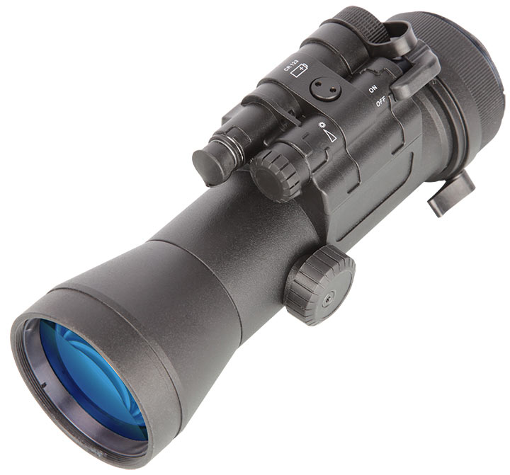 The Krystal 950 is a clip-on sight, giving typical riflescopes night vision capabilities.
