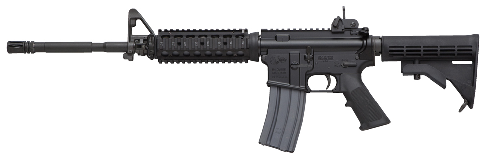 The Colt LESOCOM, the closest thing to the military M4A1 a civilian can get?
