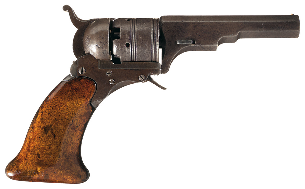 U.S. Colt Walker Model 1847 revolver. This lot commanded not only the highest price of the weekend, at $138,000