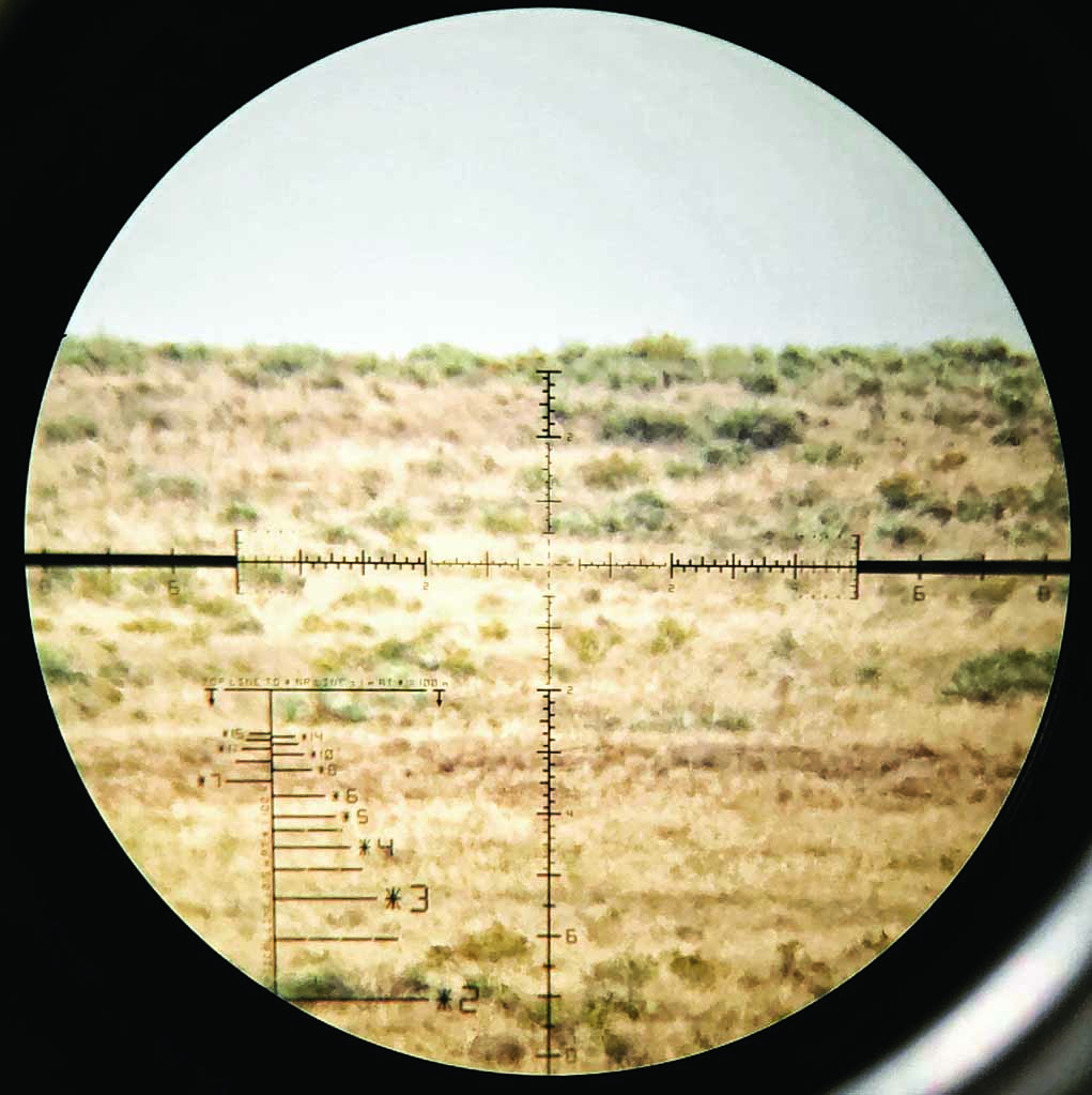 Edge-to-edge clarity, with no shading, is key. Be sure you are not hunting for a clear sight picture as you settle behind the rifle.