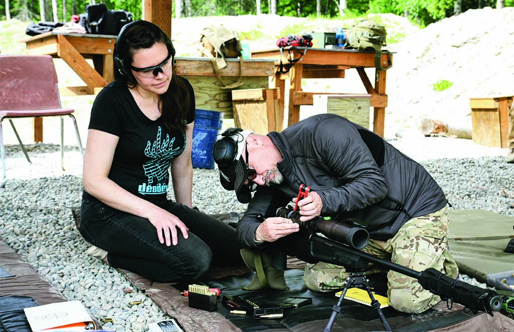 Setting up the rifle is the first step in building a solid foundation. When we buy a new car, we adjust the seats and mirrors prior to driving. The rifle needs to be addressed the same way.