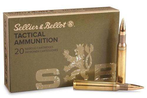"""Sellier & Bellot 150-grain .30-06 loading """"For M1 Garand."""""""