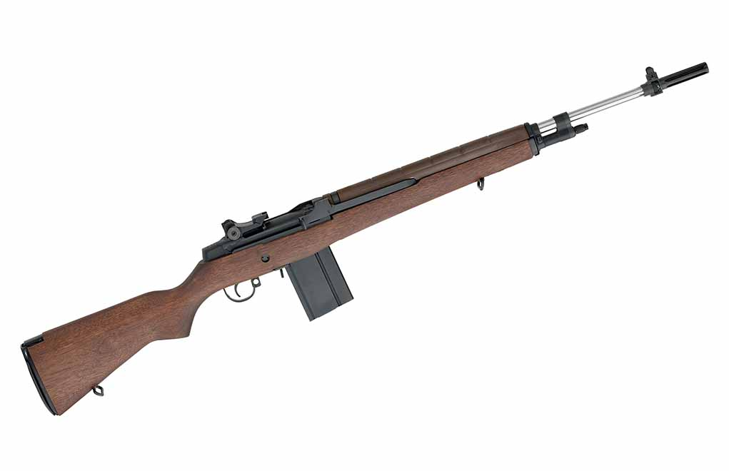 Springfield Armory M1A National Match ... still a favorite among those going the distance.