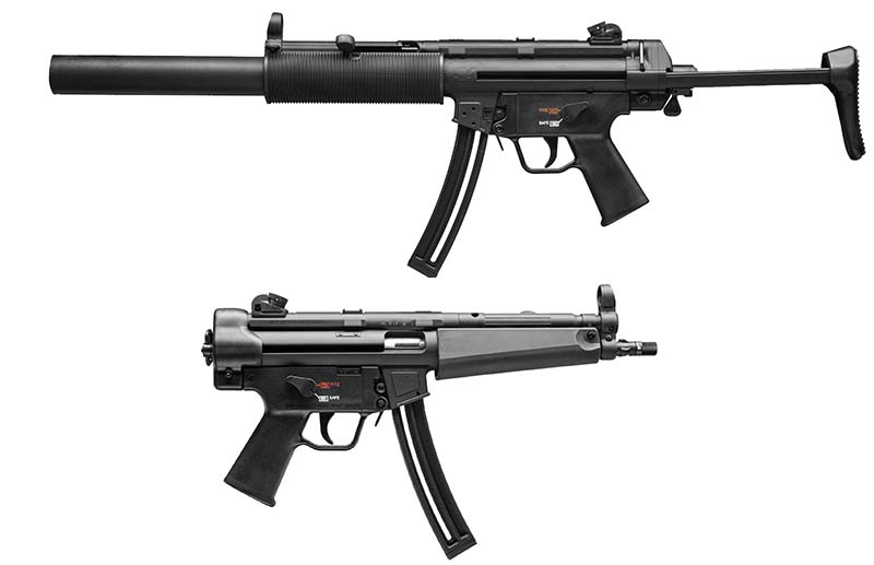 MP5 ..22 LR rifle and pistol