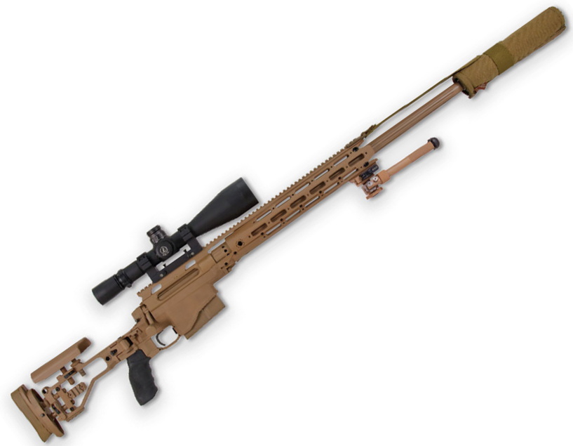 Remington Defense has a number of products hitting the consumer market soon, including it's long-distance Modular Sniper Rifle pictured above.