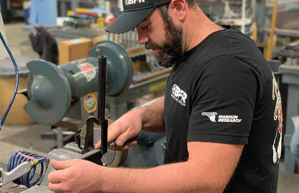 Brett Pikula personally fits, assembles and builds these custom offerings.