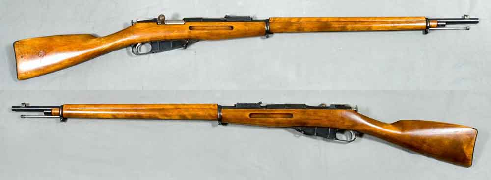 Mosin-Nagant Bolt-Action Rifles