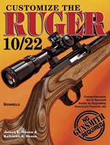 Customize the Ruger 10/22 by James E. House and Kathleen A. House