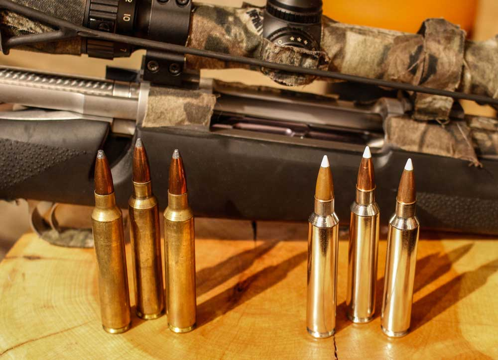Nosler Partitions and AccuBonds serve the .300 Remington Ultra Magnum case well.
