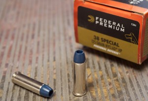 Federal Nyclad is the only standard pressure .38 Special round author feels comfortable recommending for self-defense work.