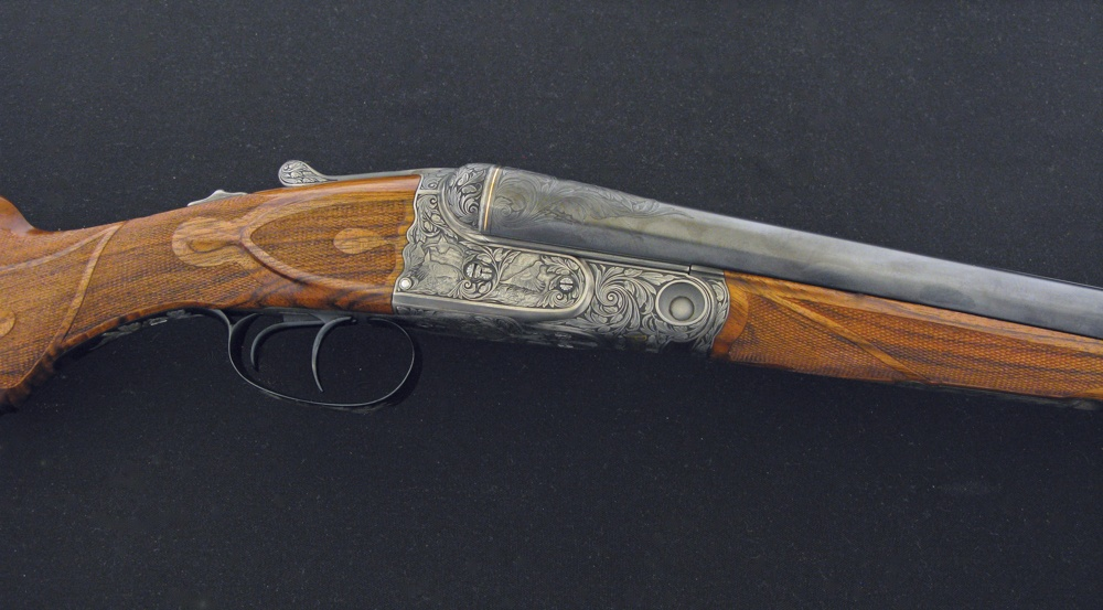Robert Strosin Custom Parker Shotgun