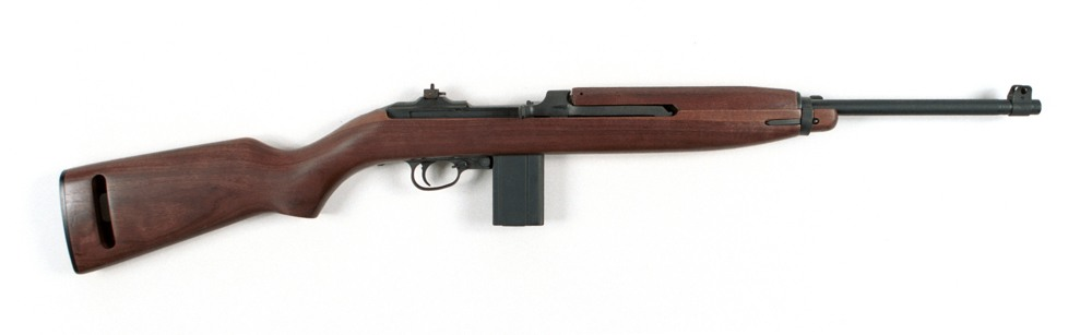The Garand's cousin, the M1 Carbine, uses a .30-caliber pistol round. 6.5 million carbines were produced. It is another excellent survival gun choice. Photo: Auto Ordnance