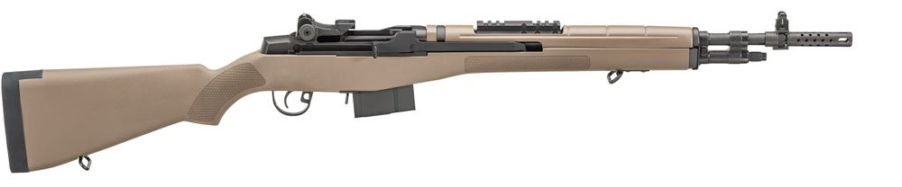 The Springfield Armory Scout Squad is a hard-hitting .308 semi-auto that accepts a forward-mounted optic. - scout rifles m1a