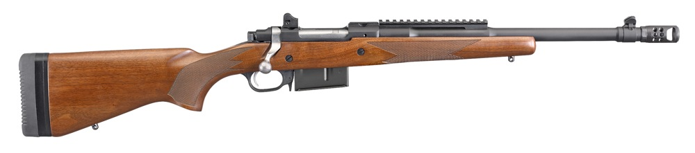 "The Ruger ""Gunsite Scout Rifle"" was developed in conjunction with the staff at the world famous shooting facility. - Scout Rifles - Ruger Gunsite"