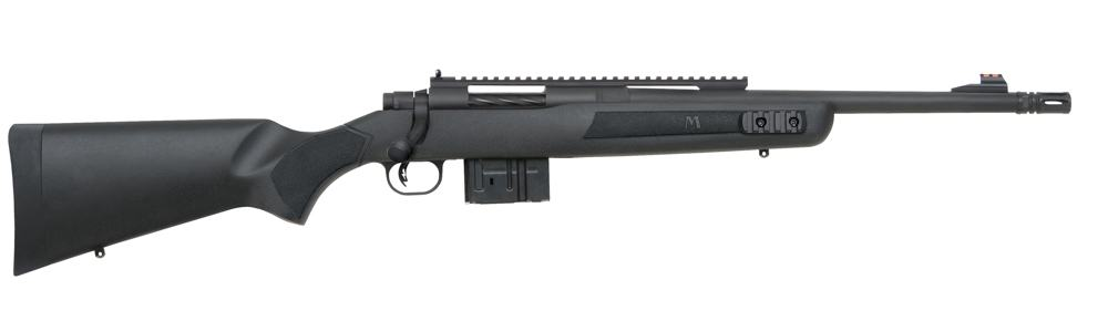 The handy little Mossberg MVP Scout can accept both M1A and AR-10 mags. - Scout Rifles MVP