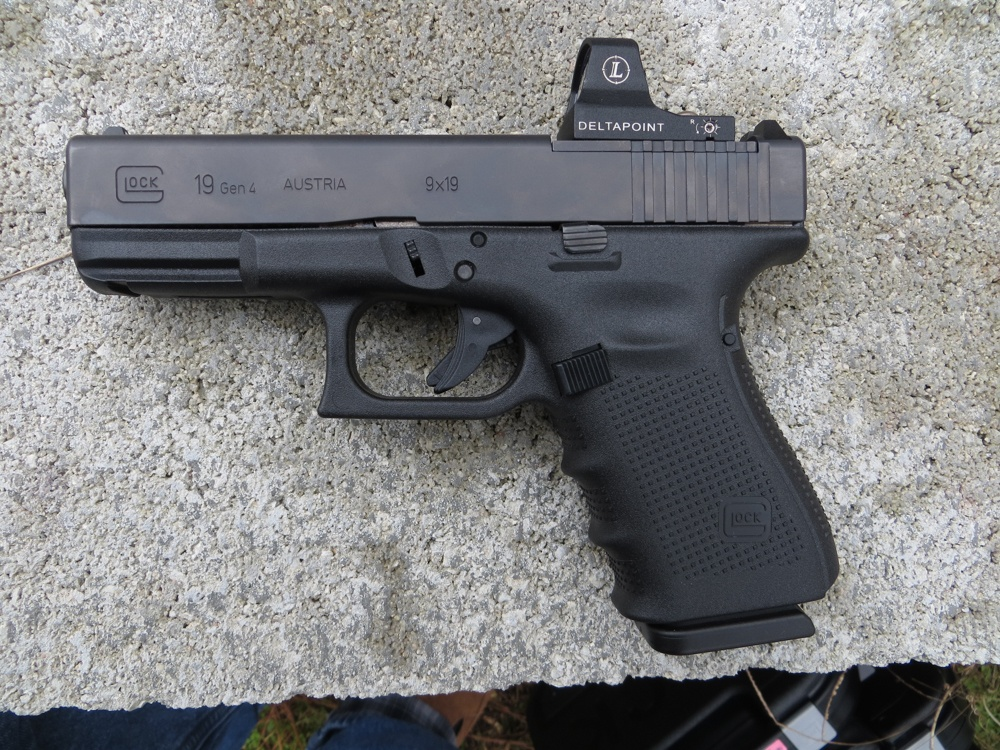 The Glock G19 Gen4 MOS allows the operator to mount a small reflex red-dot sight. This will no doubt change the way the next generation of concealed carry users defend themselves.