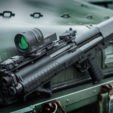 Trijicon has added the option of a green reticle in its versatile Reflex Line of illuminated optics.
