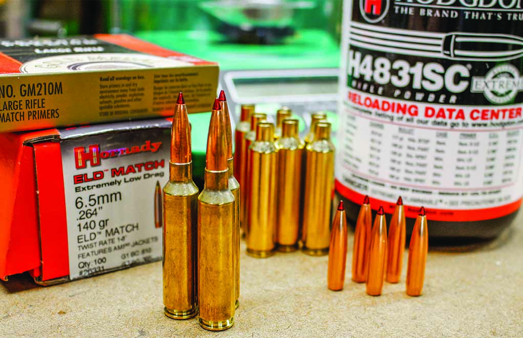 Reloading 3Both precision shooting and extreme long-range shooting have become very popular, and our reloading gear is definitely aimed at that crowd.