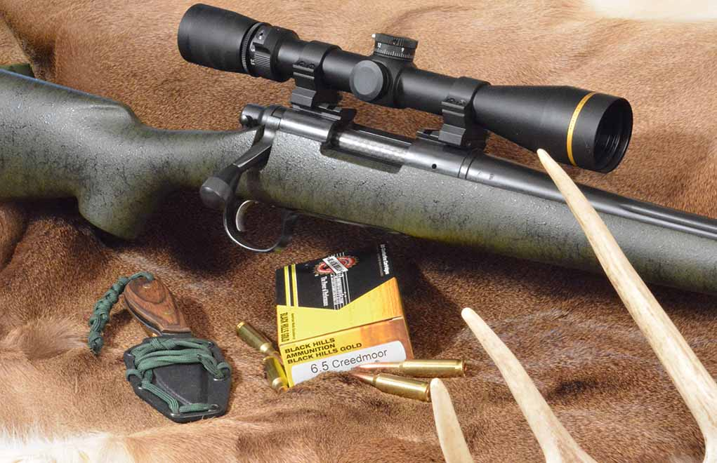 Editors from the NRA's American Hunter magazine worked with Remington designers to develop the Remington Model 700 American Hunter rifle in 6.5 Creedmoor.