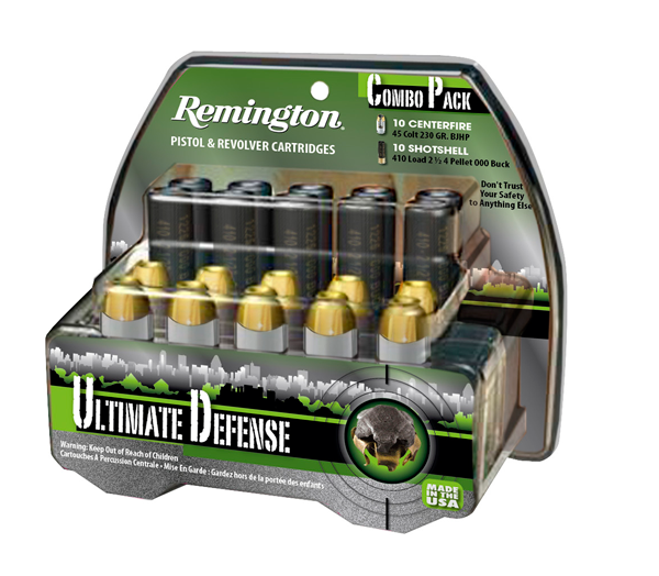 Remington Ultimate Defense Combo Pack