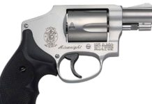 concealed carry revolvers - SW model 642