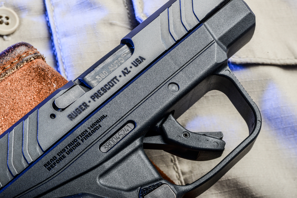 Ruger LCP II review - 4 - trigger