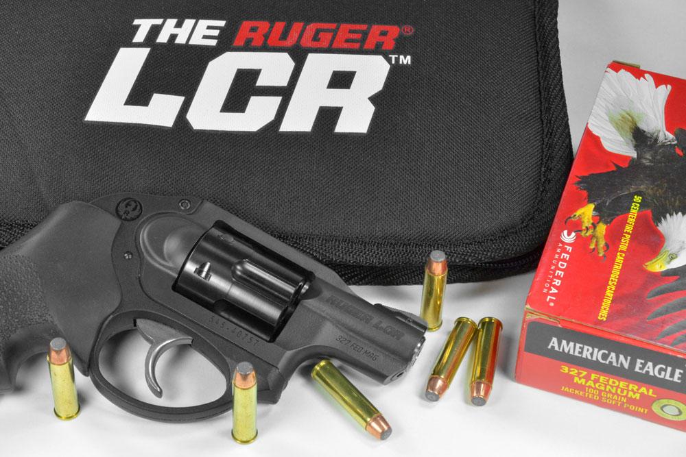 Ruger LCR .327 Federal Magnum _F