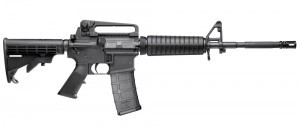 The S&W M&P-15 tested by Sweeney had a 1/9 twist rate barrel.