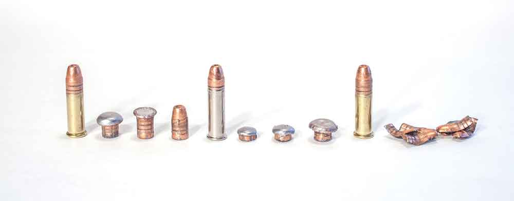 When it comes to the .22 LR, penetration is more important than expansion. Even fully expanded, a .22 LR bullet is not as big as a bullet from a 9mm.
