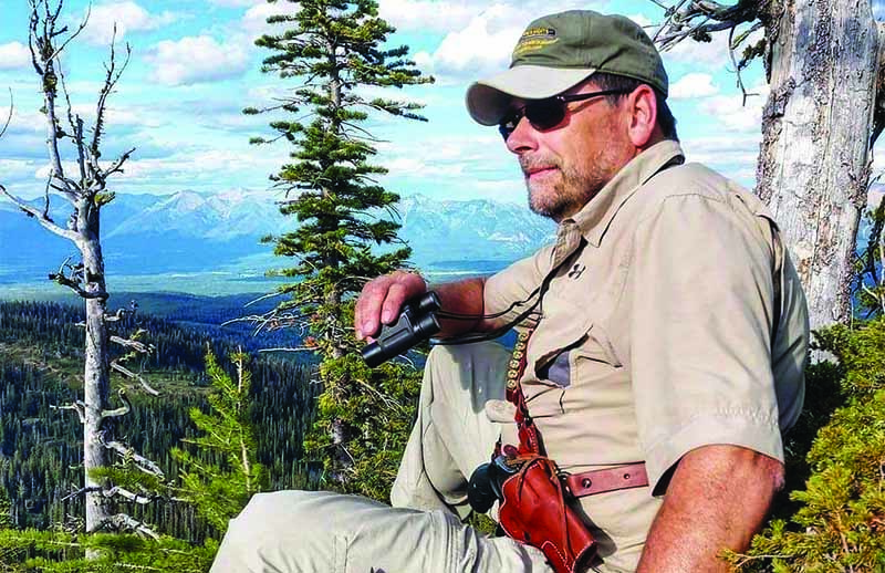 Andy Larsson creates sights for hunters that work because he does most of his product development where hunters are—in the woods. A constant tinkerer, Larsson often solves big problems with small solutions because of his ability to see the needs of the shooter so clearly.