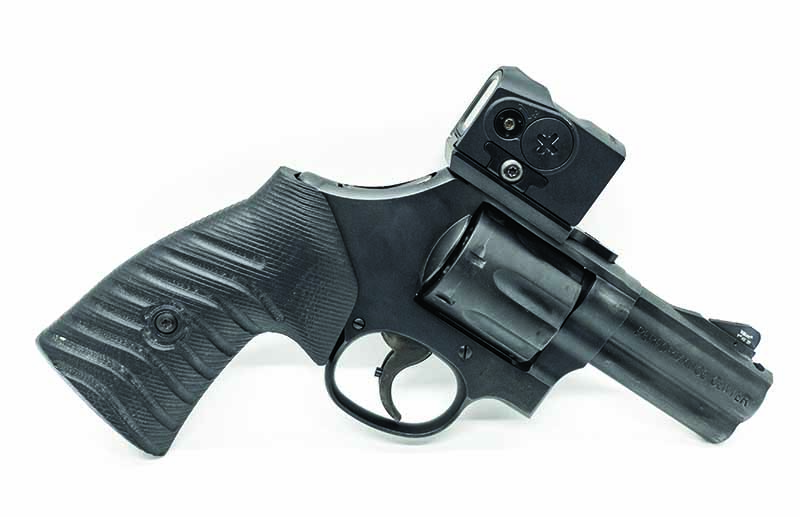 The modern defensive revolver—purpose built for serious shooting.