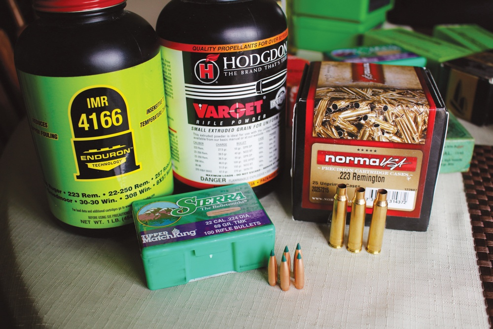 Components for the .308 buildup.