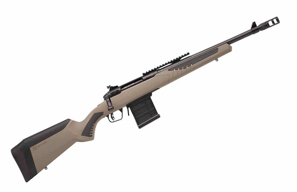 The Savage Arms Model 110 Scout Rifle was purpose-built to serve as a can-do gun capable of sustained short- or long-range firepower in a small, light and accurate platform.