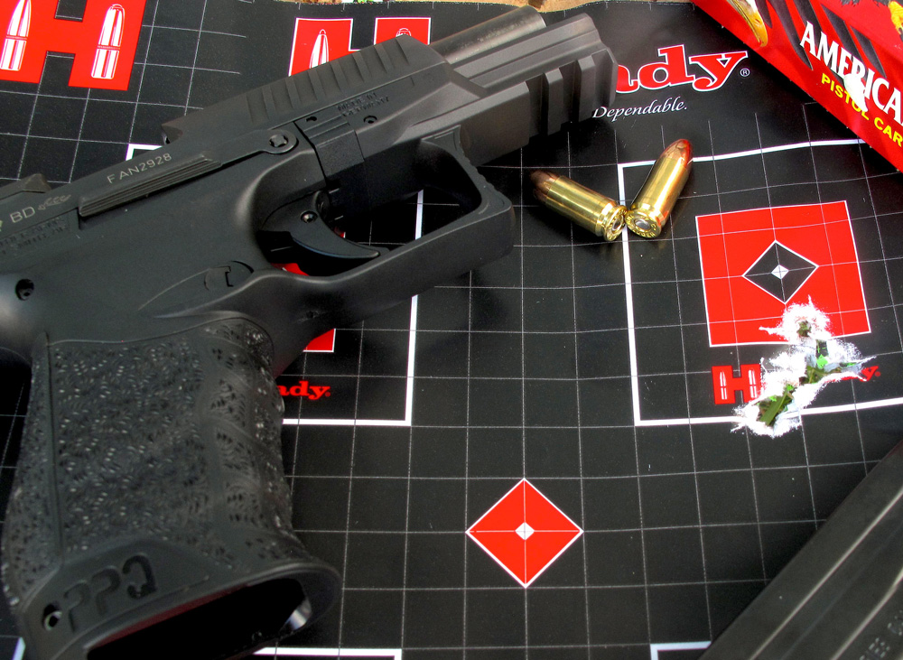 Despite generally spending more time behind a shotgun or rifle, the author shot some of the best groups of his life with the 9mm PPQ M2.