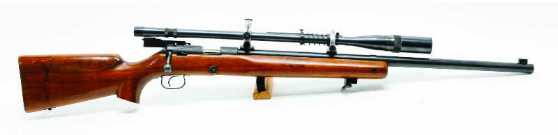 "This was the classic rimfire target rifle for most of the 20th century, the Model 52, dubbed the ""greatest small bore rifle ever."""