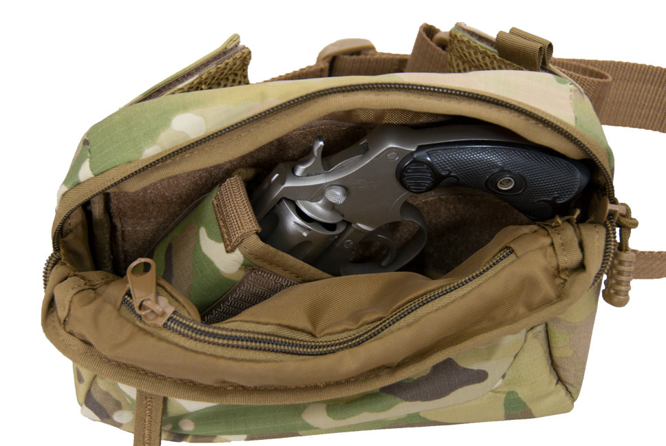 Flying Circle Bags has released a slew of new gun cases. This includes a handy waist pack that fits nearly any revolver or compact/sub-compact pistol.