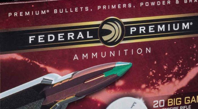 Federal Premium - new ammo -feat