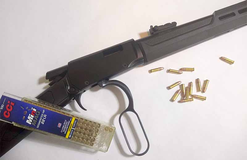 While the Rio Bravo Polymer has modern update, it still maintains trappings of Rossi's R92 centerfire line.