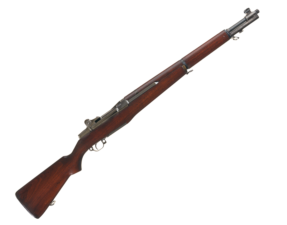 """Historic and Extremely Rare Serial Number """"7"""" Springfield Armory Shop Model M1 Garand Semi-Automatic Rifle that drew top dollar at RIAC's latest gun auction. Photo Rock Island Auction Company."""