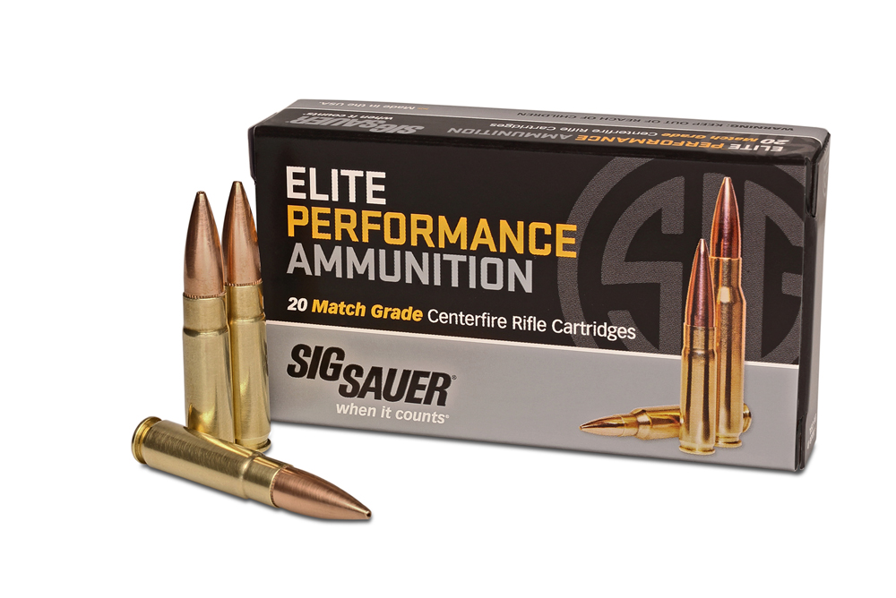 SIG Sauer is releasing its first rifle ammunition, a subsonic 300 Blackout round.