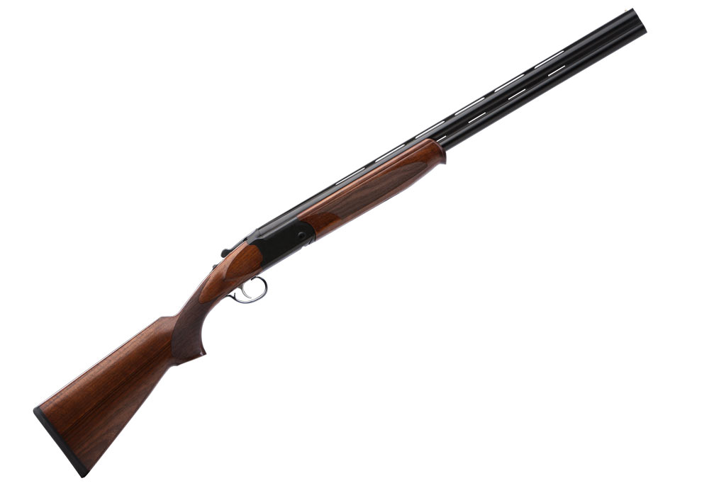 Stevens 555 has the classic lines and features of more expensive over-under shotguns.