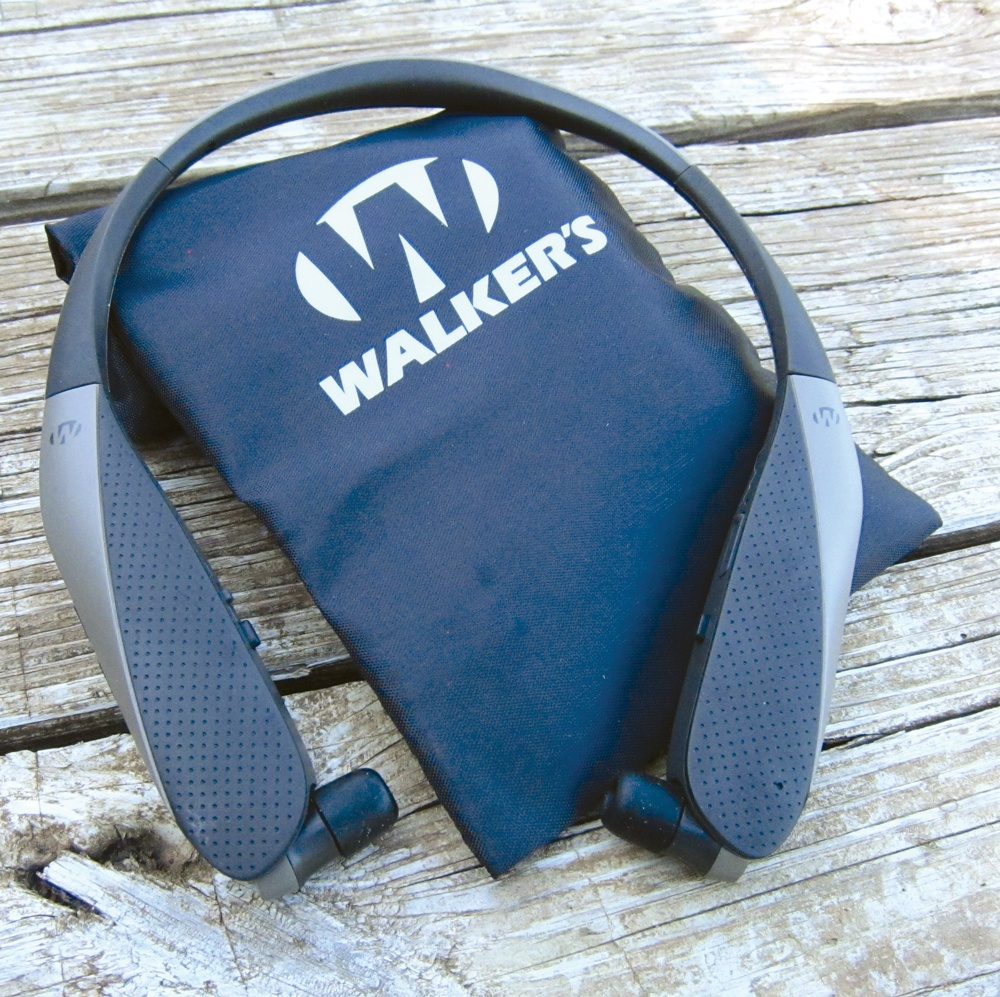 The Walker's Razor X earplug set is light, easily packed for travel and is active, electronic hearing protection.